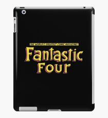 Fantastic Four - Classic Title - Clean iPad Case/Skin