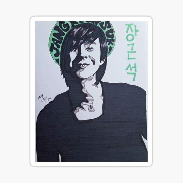 Jang Keun Suk Sticker