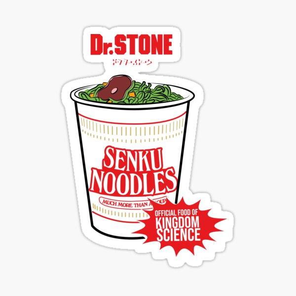 DR STONE: ALIMENTATION OFFICIELLE DE SENKU NOODLES Sticker