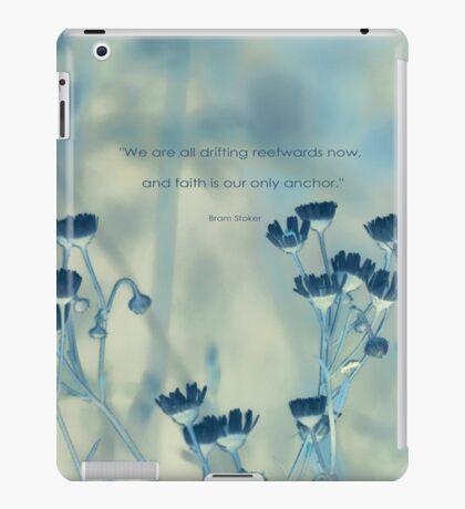 Glaube ist eine Anker-Inspiration iPad-Hülle & Klebefolie