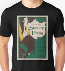 Artist Posters Special features for Sunday Jan 5 1896 0508 Unisex T-Shirt