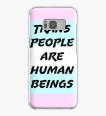 Trans People Are Human Beings Samsung Galaxy Case/Skin