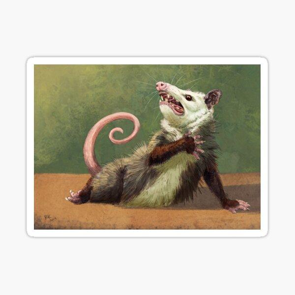Amateur Opossum Actress Sticker