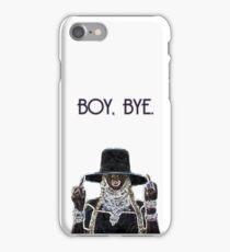 BOY, BYE. iPhone Case/Skin