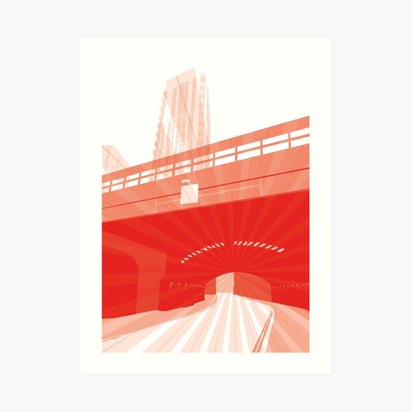 Bridge Momentum (lite) Art Print