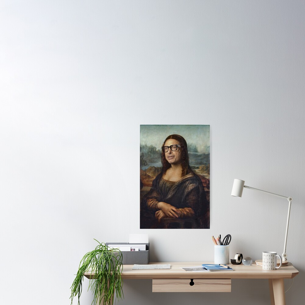 Poster «Mona Goldblum - Peinture à l'huile»