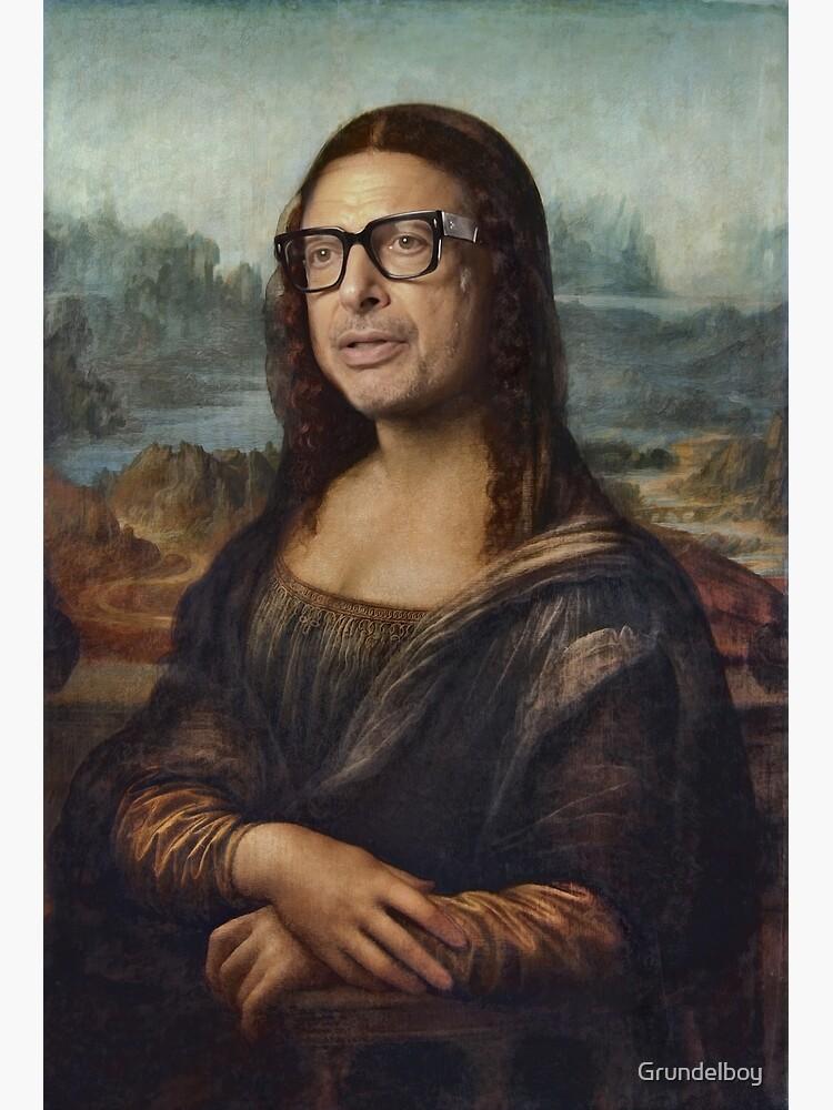 «Mona Goldblum - Peinture à l'huile» par Grundelboy