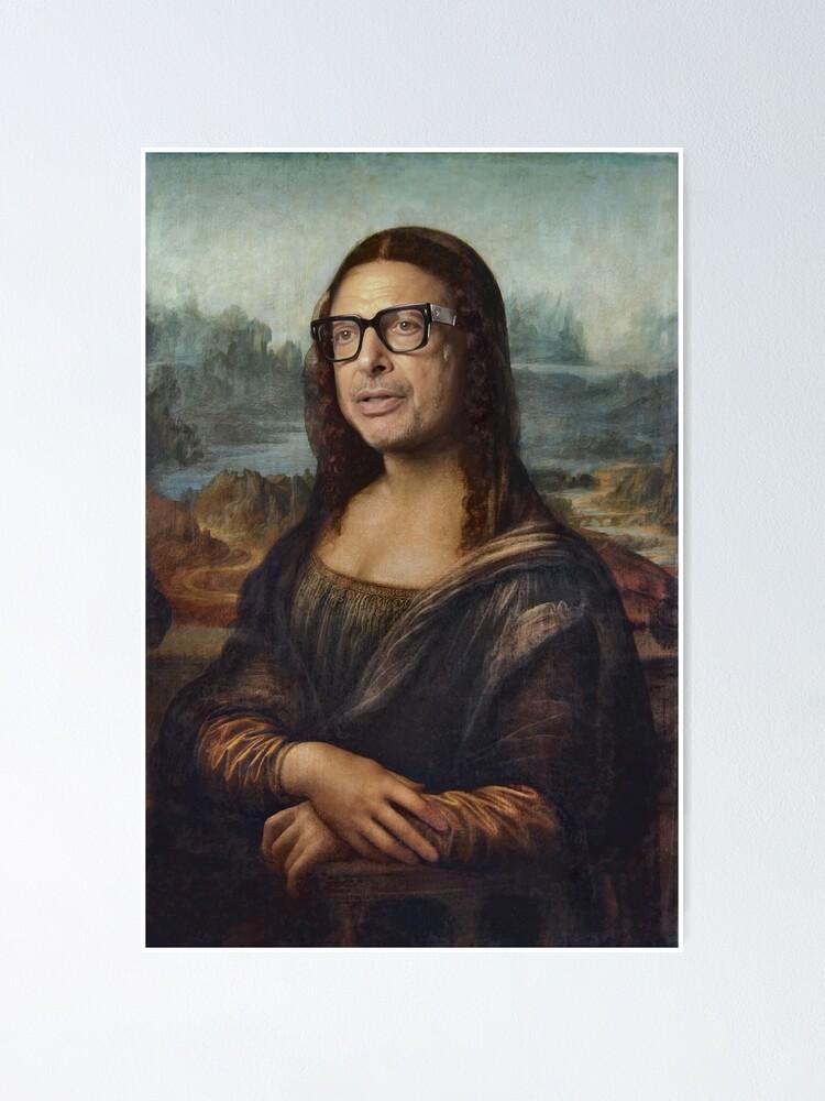 Poster ''Mona Goldblum - Peinture à l'huile': autre vue