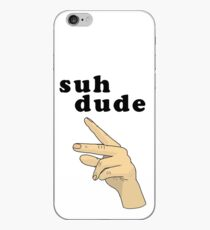 Suh Dude meme | Schwarze Buchstaben iPhone-Hülle & Cover