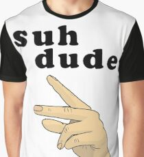 Suh Dude meme | Black Letters Graphic T-Shirt