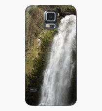 Water Rushing Over the Peguche Waterfall Case/Skin for Samsung Galaxy