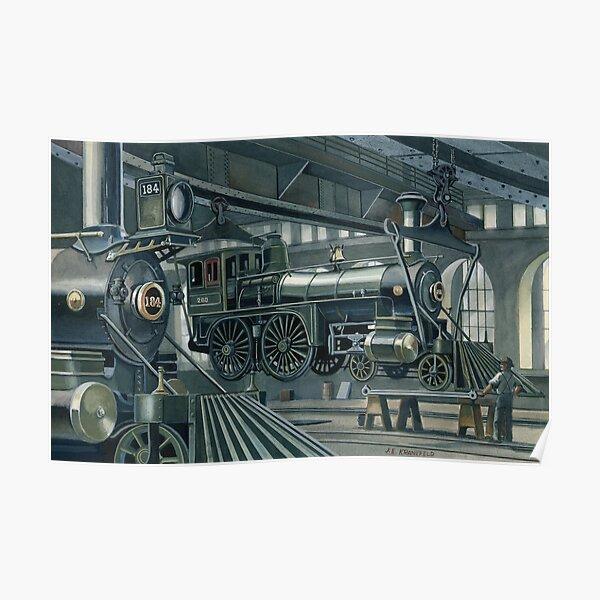 Altoona Machine Shop Poster