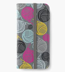 Yarn Yarn Yarn Yarn Yarn iPhone Wallet/Case/Skin