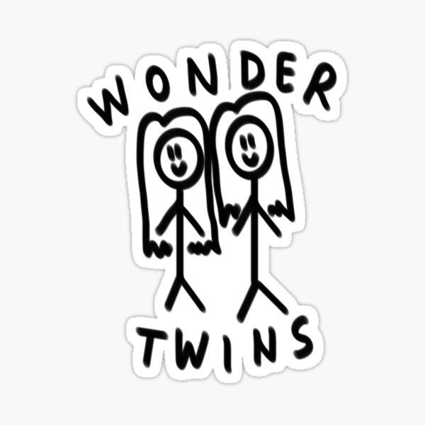 Wonder Twins Sticker