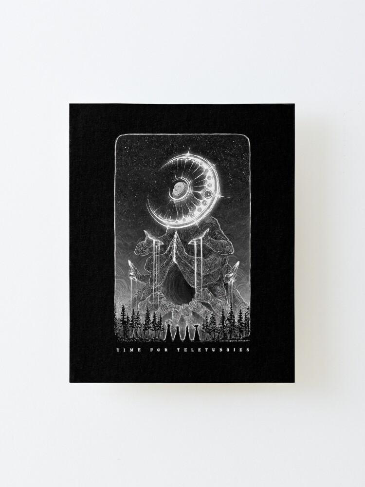 Alternate view of Elder Moonbaby, The Dreamcatcher Mounted Print