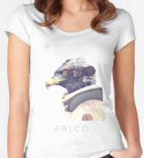 Star Team - Falco Women's Fitted Scoop T-Shirt