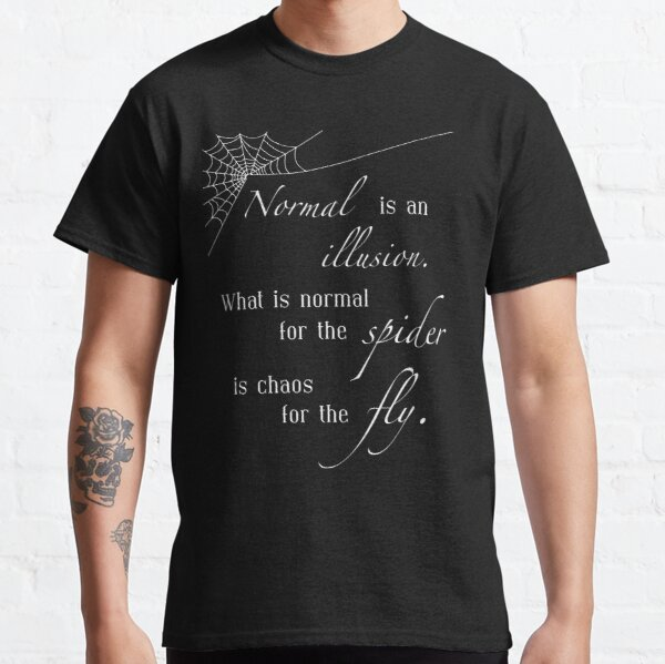 Normal is an Illusion - Morticia Addams Classic T-Shirt
