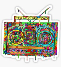 Boom Box Sticker