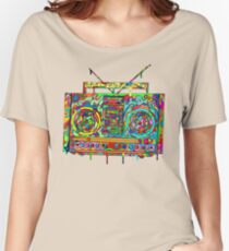 Boom Box Women's Relaxed Fit T-Shirt