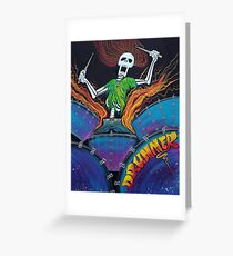 Drummer Of The Dead Greeting Card