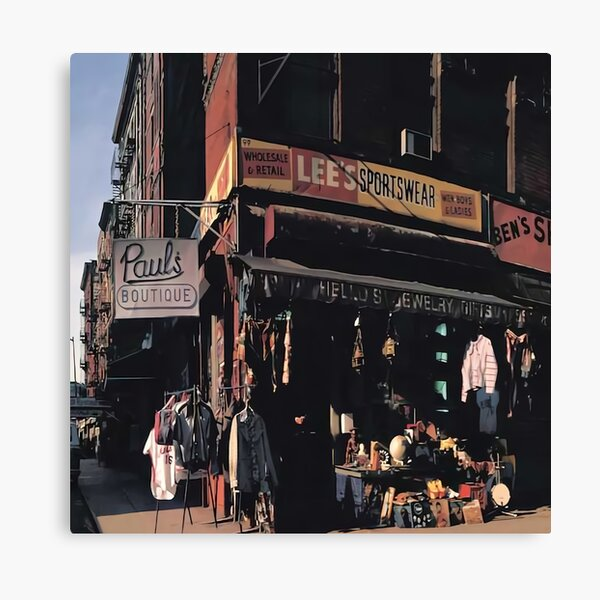 retro city Beastie Pauls Boutique Canvas Print