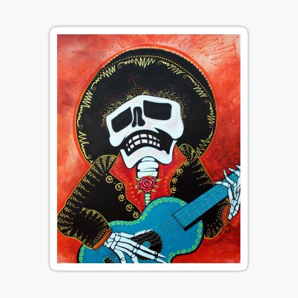 Mariachi Musician Sticker
