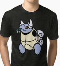 Wartortle! Tri-blend T-Shirt