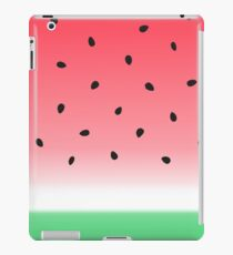 Watermelon Ombre Stripes iPad Case/Skin