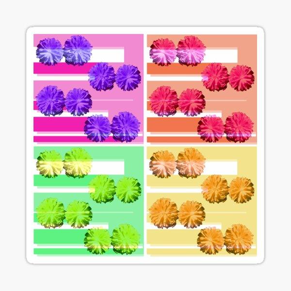 formatting flowers in all seasons Sticker