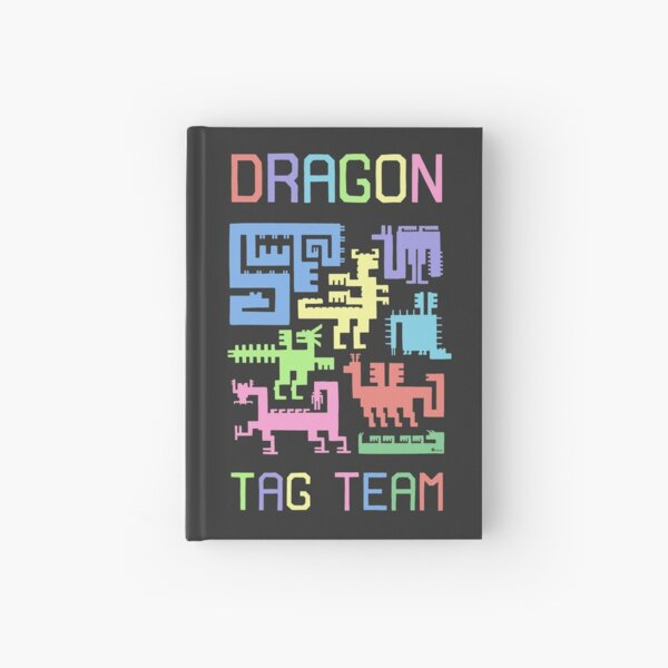 Dragon Tag Team: Draconic Glyphs Hardcover Journal