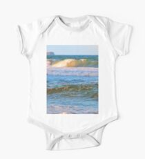 Rolling wave and headland in Queensland One Piece - Short Sleeve