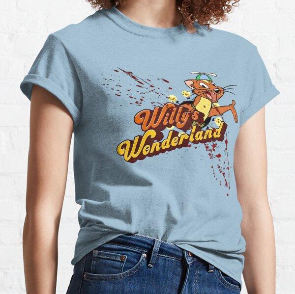 El país de las maravillas de WIlly (3) Camiseta clásica