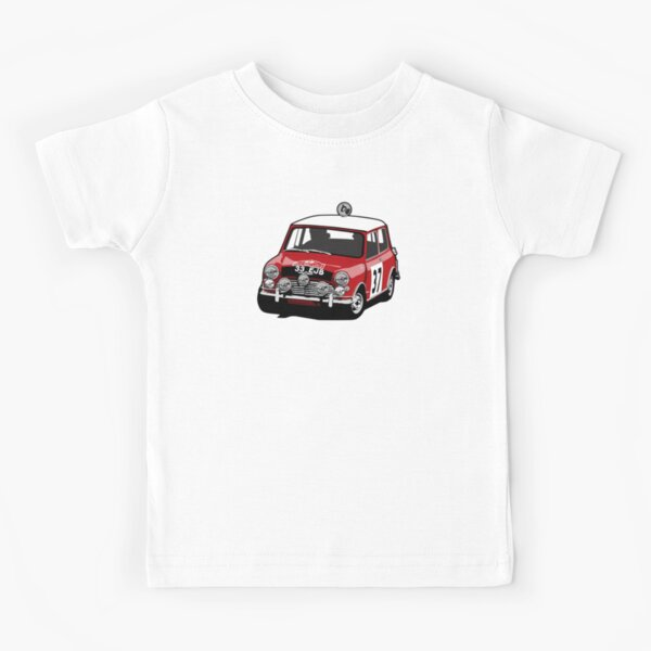 Paddy Hopkirk Mini Cooper S Kids T-Shirt