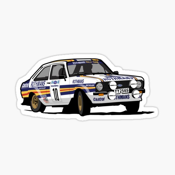 Ford Escort Mark 2 BDA Cosworth Sticker
