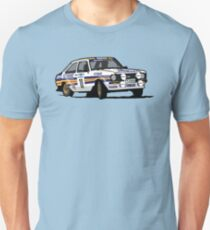 Fortitude's Ford Escort Mark 2 BDA Cosworth Unisex T-Shirt