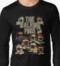 Die Walking Pugs Langarmshirt