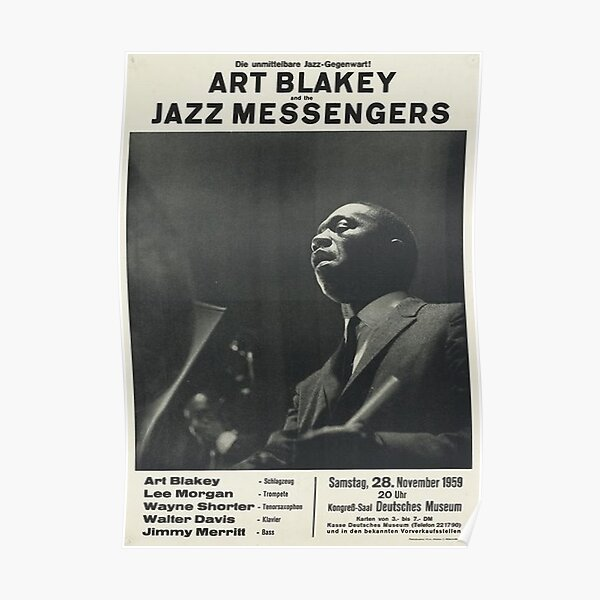 Art Blakey and the Jazz Messengers Poster
