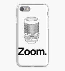 Zoom lens iPhone Case/Skin