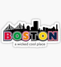 Wicked Boston Sticker
