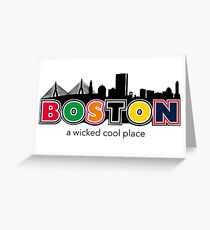 Wicked Boston Greeting Card