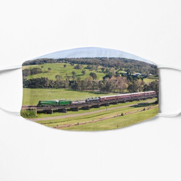 Southern Highlands 3801 - Australian steam locomotive. Flat Mask