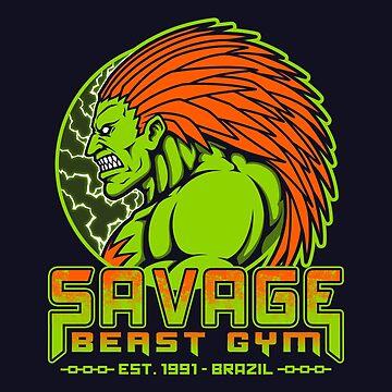 Savage Beast Gym by pigboom