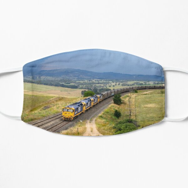 Chasing Storms Pacific National Train Flat Mask