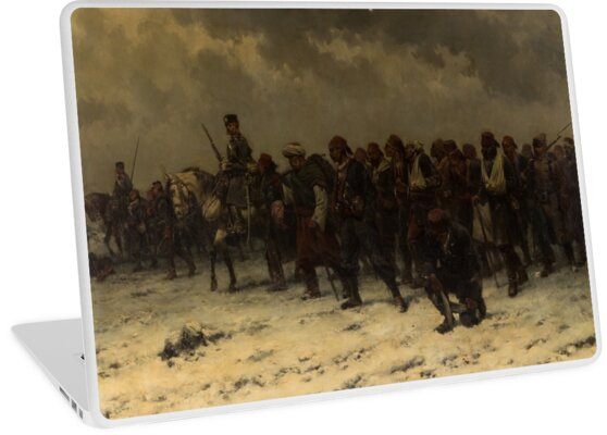 HERMANUS WILLEM KOEKKOEK (DUTCH ) Russian Cavalry and Infantry Escorting Ottoman Prisoners by MotionAge Media