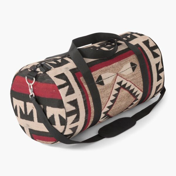 NAVAJO 1925 ART WITH FEATHERS SCAN HIGH RES - ORIGINAL WORTH OVER $20,000 Duffle Bag