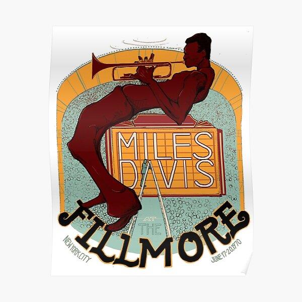 Miles Davis at the Fillmore Poster