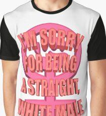 Anti-Feminism Apparel - White Male Priveledge Graphic T-Shirt