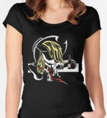 Applejack Noir Women's Fitted Scoop T-Shirt