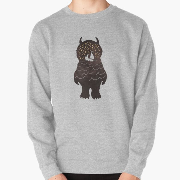 And Into The Night Pullover Sweatshirt