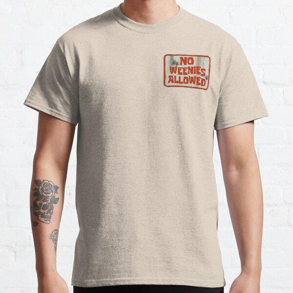 Spongebob No Weenies Allowed  Classic T-Shirt